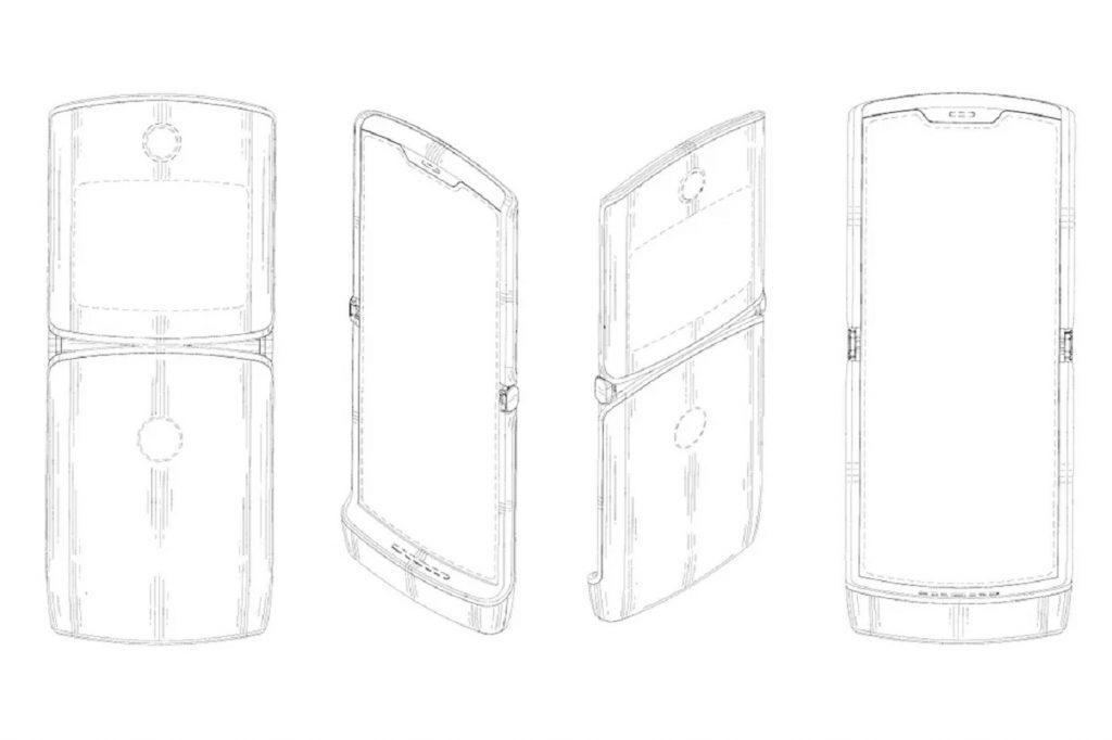 Brevet concept Motorola Razr pliable