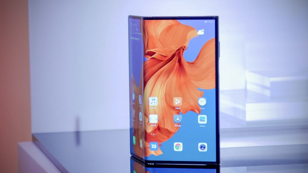 Smartphone pliable Huawei
