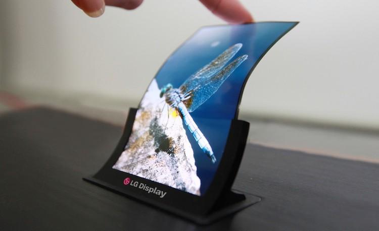LG smartphone flexible