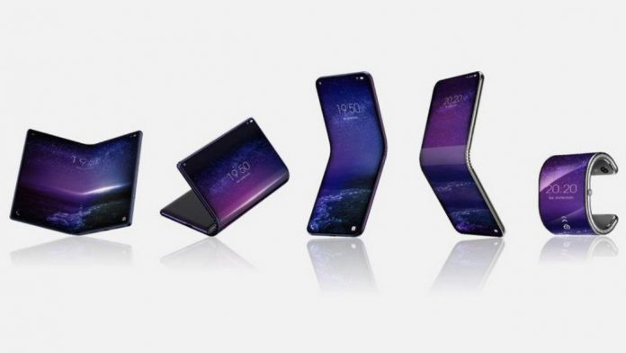 TCL Smartphone pliable