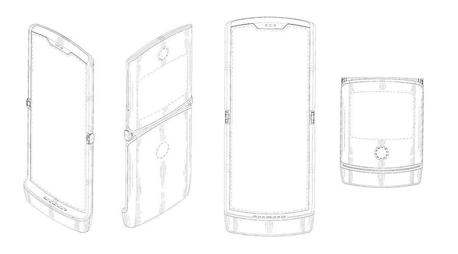 Motorola pliable