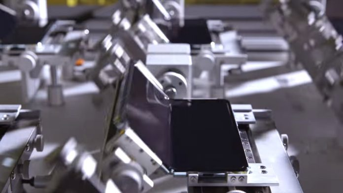 Test de résistance du Samsung Galaxy Fold