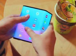 Smartphone pliable Xiaomi en vidéo