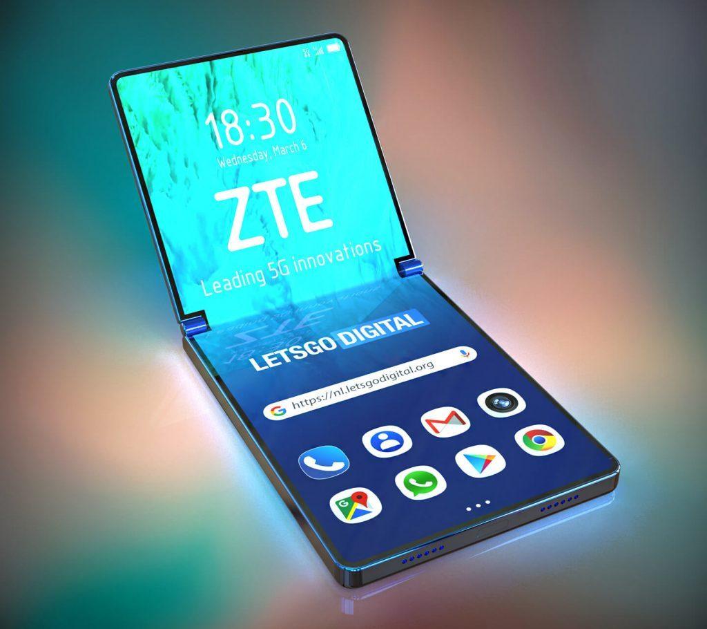 Smartphone à clapet ZTE
